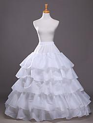 Slips A-Line Slip Floor-length 5 Polyester White