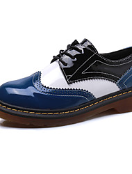 Women's Shoes  Fall Comfort / Round Toe / Closed Toe Flats Casual Low Heel  Black / Blue
