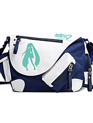 Bag Inspired by Vocaloid Hatsune Miku Anime Cosplay Accessories Bag / Backpack Black Nylon Male / Female