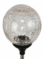 energia solar LED cor alterando globo bolas gramado luz de vidro jardim