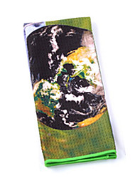 гольф полотенце, чтобы вытереть кий поставки сверхтонкие волокна для гольфа, гольф полотенце, чтобы вытереть пот полотенцем