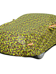 Camo plus thick cotton Waterproof sunscreen 3M Automotive sewing Car cover