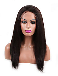 Fashion Kinky Straight Lace Front Wigs/ Full Lace Human Hair Wigs For Black Women Brazilian Virgin Hair Free Shipping!!