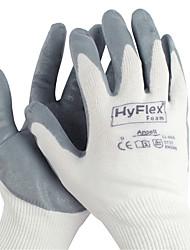 nitrile ansell® trempé nylon revêtement antidérapant respirant gants résistant huile