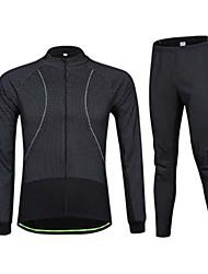 Sport Fahhrad/Radsport Oberteile / Unten Herrn Kurze Ärmel Atmungsaktiv / Schweißableitend Elastan Weiß S / M / L / XL / XXL / XXXL