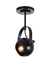 Lampe suspendue ,  Retro Autres Fonctionnalité for Designers MétalSalle de séjour Chambre à coucher Salle à manger Cuisine Bureau/Bureau