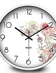 Simple Bird Flower Clock Fashion All-Match Living Room Home Furnishing Mute Electronic Quartz Wall Clock