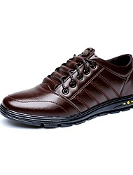 Men's Shoes Amir New Style Hot Sale Casual / Outdoor Inner Height Increasing Black / Brown Comfort Oxfords