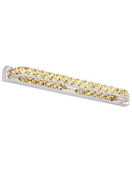 14W Crystal / LED Bathroom Lighting,Modern/Contemporary LED Integrated Metal