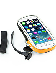 Bike Handlebar BagWaterproof / Reflective Strip /  Phone Holder / Phone/Iphone / Touch Screen / Multifunctional /