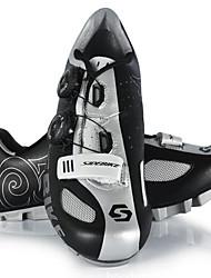 Chaussures Noir Similicuir Cyclisme Femme