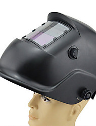 auto Huate ajustável anti-reflexo máscara do soldador soldagem a arco escurecimento capacete de soldagem (fone de ouvido)