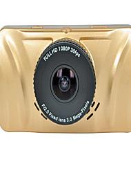 coche de la pantalla de 3 pulgadas HD 1080 p vehículo solo lente de la visión nocturna del coche del hd grabador de datos que viaja