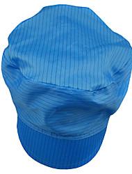 chapéus de proteção contra poeira solidéu antiestático 12-1d junto chapéu anti-estática