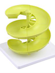 Plastic Egg Baskets Spiral Racks Kitchen Storage Racks Egg Storage Boxes And Racks Three-Layer