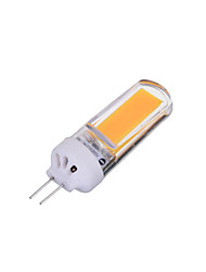 3W G4 Luces LED de Doble Pin T 1 COB 200-300 lm Blanco Cálido / Blanco Fresco Regulable / Decorativa AC 100-240 V 1 pieza