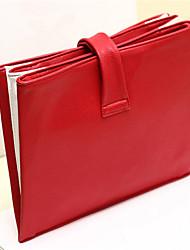 Damen PU Alltag Unterarmtaschen / Abendtasche Rot