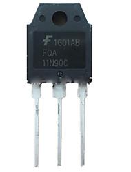 o n de efeito de campo modelo de tubo fqa11n90c transistor de potência original novo