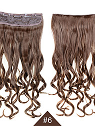 60CM Heat Resistant Synthetic Cosplay Hair #6 Long Wavy Curly Synthetic Hair Female Women Sexy Hair