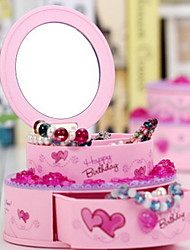 Cake Shape Plastic Music Box