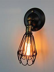 ретро промышленный стиле кантри металл настенные светильники ресторан кафе бары бар стол минималистский настенные бра