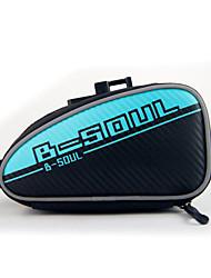 B-Soul® Bike Bag 2LLFahrrad-Sattel-Beutel Wasserdichter Verschluß / tragbar / Multifunktions / Reflektierend / Telefon/Iphone / Stoßfest