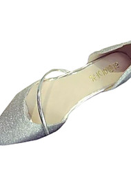 Women's Shoes PU Summer Comfort Flats Casual Flat Heel Others Silver / Gold