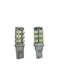2 PCS 2005-2010 Year Peu-geot 207 308 408 T10 6W LED Width Lamp Car Reading Lamp White Color
