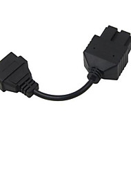 20 P To 16 Pin Obd Automobile Transformation Line Square 20 Pin For Kia Kia 7 Cm Long