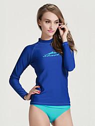 SBART Femme Costumes humides Combinaison de plongée Anti Irritation Résistant aux ultraviolets Compression Tactel Tenue de plongée