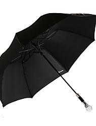 cristal transparente guarda-chuva 2 vezes 2016 nova moda de venda quente