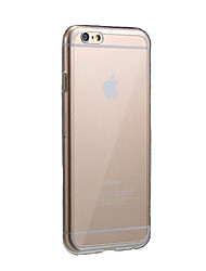 Ultra Thin Clear Crystal Rubber TPU Soft Case for iPhone 6s 6 Plus