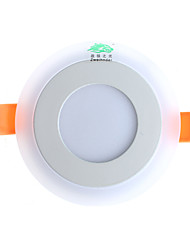 Zweihnder  W528 LED Panel Downlight 3W+3W 3 Model LED Lamp Panel Light Double Color LED Ceiling