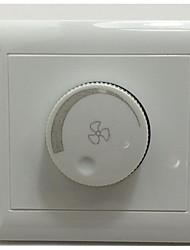 interruptor de regulação de velocidade para ventilador de teto fã tipo de energia 86 painel interruptor de parede escondida