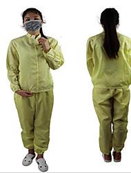 anti estática e limpa roupas, alimentos fábrica roupas limpas roupas de trabalho anti-estática