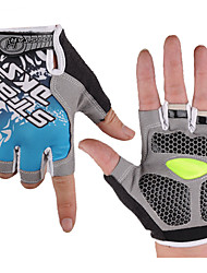 Gloves Bike Wearable / 3D Pad / Shockproof / Ultra Light Fabric Women's / Men's / Unisex Yellow / Red / Blue LYCRA®