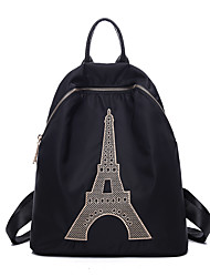 Women Sports Casual Outdoor Shopping Backpack Nylon