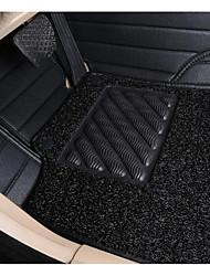 mercedes-benz automatten volledig surround-r350 s600 grade leren ring dubbel dual-wire auto tapijt