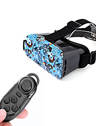 "VR 3D Video Headset Glasses + Bluetooth Controller for 4.7~6"" mobile phones"