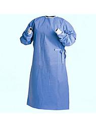 120x120cm médico espessamento roupas de isolamento roupa impermeável respirável não-tecidos vestido cirúrgico