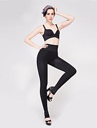 BONAS® Women Solid Color Slimming Nano Antibacterial Medium Legging-S8183