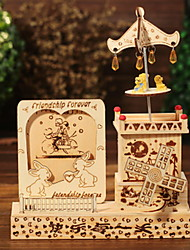 Photo Frame Umbrella Top Buzz Music Box