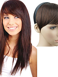 Capless Headband Straight Synthetic Side Bang Multi-Colors