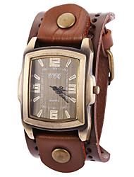 Da donna Orologio alla moda / Orologio da polso / Orologio braccialetto Quarzo Orologio casual Pelle Banda Vintage / FantasticoNero / Blu