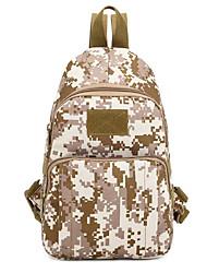 55 L Sac à bandoulière Camping & Randonnée Extérieur Multifonctionnel Noir / Marron / Camouflage Nylon Other