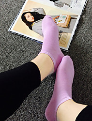 Lady Pure color socks terylene ship stockings