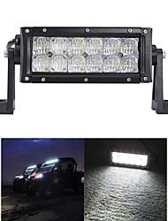 60 W FLOOD Auto Motor 5D  LED trabalho Light Bar Off-road Driving Lâmpada Pick-up Barco