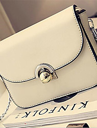 Women PU Formal Shoulder Bag White
