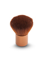 1Pcs Makeup Brush Brown Aluminum Handle nylon Brown Face Powder Blush Brushes Beauty Tools