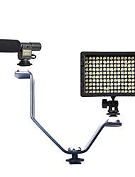 1 set avec 108 micro et de type v support de lumière du flash et hy-160 a conduit la lumière